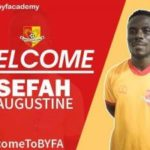 Bekwai Youth Football Academy sign Augustine Sefah
