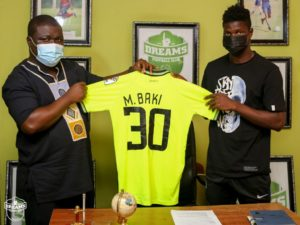 PHOTOS: Dreams FC announce the signing of youngster Baki Mohammed Jiji Alifoe