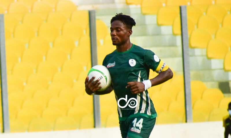 Ganiyu and Rashid were my toughest opponents this season- King Faisal striker Kwame Peprah