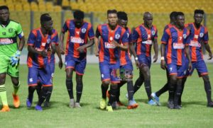 Legon Cities FC head coach Bashir Hayford names starting eleven for Black Stars friendly