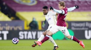 Ghana defender Daniel Amartey excel in Leicester City's draw at Burnley