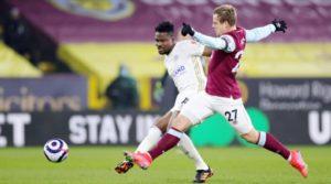 Ghana defender Daniel Amartey excel in Leicester City's draw at Burnley