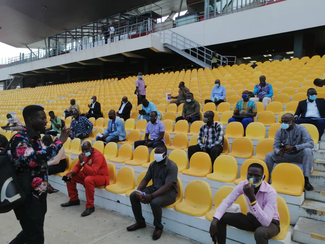 Ghana FA dispatch manuals to clubs for the training of matchday stewards