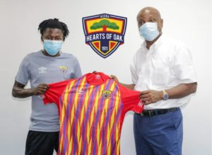 It's a privilege to serve Hearts of Oak, says new Hearts of Oak signing Salifu Ibrahim