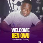 Medeama SC snap up Ben Owu as goalkeepers trainer