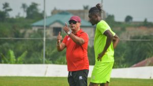 Mariano Barreto's first three fix for Asante Kotoko