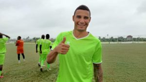 Michael Vinicius trains with Asante Kotoko teammates for the first time