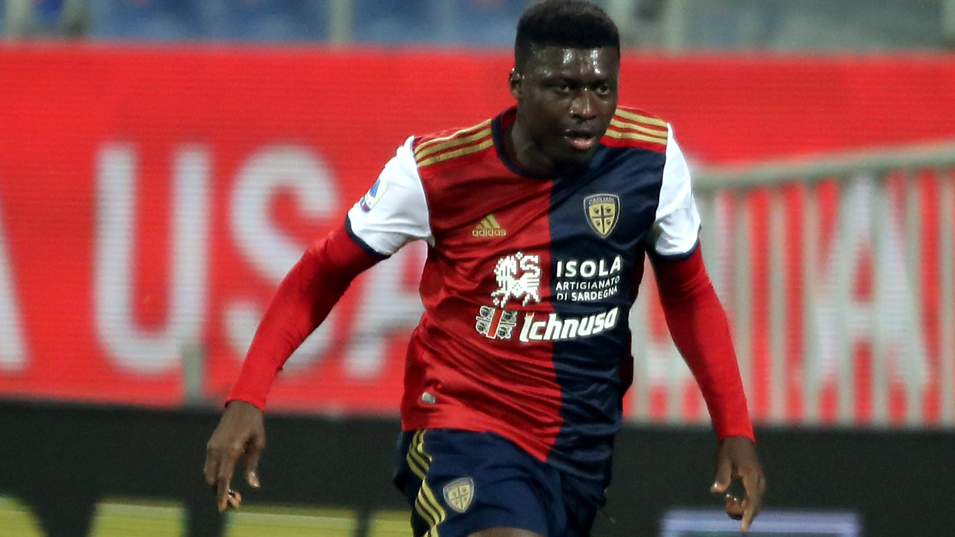 Ghana duo Alfred Duncan and Kwadwo Asamoah help Cagliari record vital win against Bologna