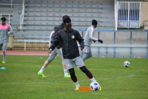 Ernest Ohemeng returns from injury and completes training with Salamanca UDS