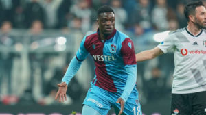 Ghana forward Caleb Ekuban goes seven matches without a goal for Trabzonspor