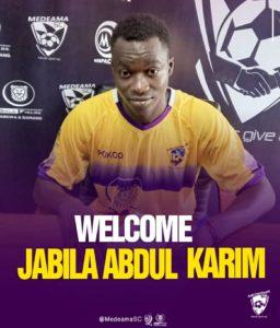 I am very happy to return to Medeama SC - Abdul Karim Jabila