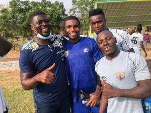 Coach Samuel Boadu takes charge of first Hearts of Oak training