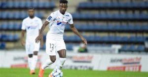 Amiens coach Oswald Tanchot praises Emmanuel Lomotey's recent performances