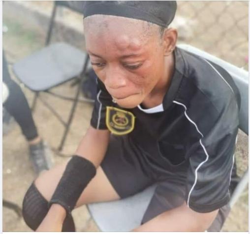 Fabulous Ladies players assault referee Faizatu Jakpa in game against Kumasi Sports Academy