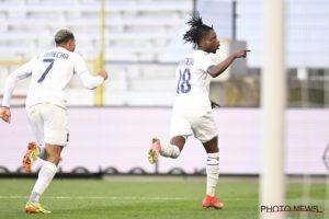 Majeed Ashimeru nets first league goal for Anderlecht