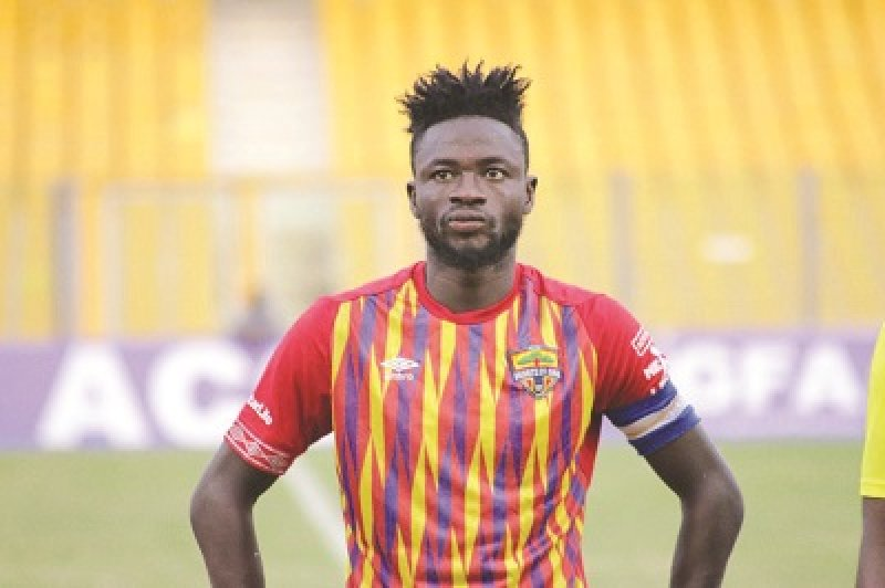 2020/21 Ghana Premier League: Samuel Boadu is a great coach - Fatawu Mohammed lauds Hearts of Oak coach
