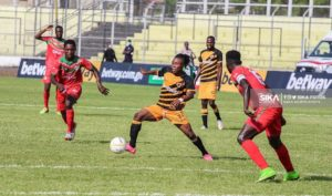 20/21 Ghana Premier League matchday 18: Karela United fight to draw 1-1 against Ashgold SC