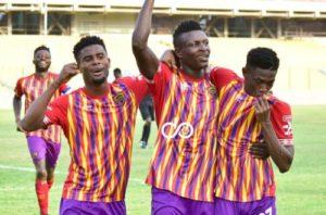 GPL HIGHLIGHTS: Hearts of Oak beat Aduana Stars 2-0 to move third