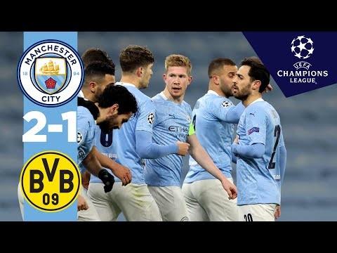HIGHLIGHTS | Man City v Dortmund | DE  BRUYNE, REUS, FODEN | UCL Quarter final 1st leg