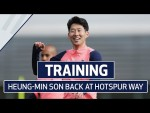 HEUNG-MIN SON BACK IN TRAINING | Pre-Newcastle Preparations