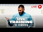 El Clásico | Training before Real Madrid-Barcelona!