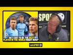 """THE BEST PLAYER IN THE WORLD RIGHT NOW!"" Adrian Durham claims Kevin De Bruyne is best in the world!"
