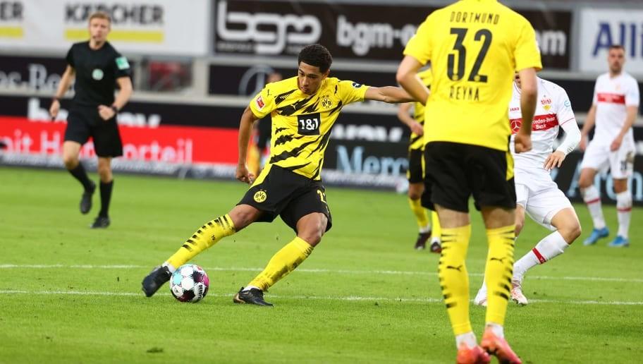 Stuttgart 2-3 Dortmund: Jude Bellingham on target to boost Euros chances