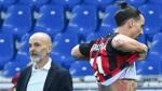 Ibrahimovic sent off in Milan win