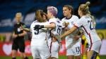 USWNT get draw vs. Sweden as win streak ends
