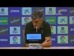 Rueda de prensa SD Eibar vs Levante UD
