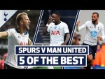 Bergwijn, Kane, Lamela, Eriksen & Sandro! | 5 OF THE BEST HOME GOALS V MAN UNITED