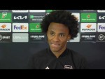 Willian on racism, social media abuse and his form this season | Pre-Slavia Prague press conference