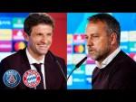 🎙️ Gute Neuigkeiten bei Verletzten | Pressetalk mit Thomas Müller & Hansi Flick | PSG - FC Bayern