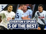 Kane, Ginola, Dele, Jenas & Eriksen | 5 OF THE BEST | SPURS BEST GOALS AT GOODISON PARK
