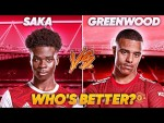 Saka vs. Greenwood - Who's Better? | Explained