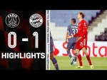 Fighting spirit and passion unrewarded | Highlights PSG vs. FC Bayern 0-1