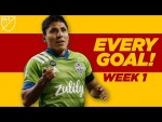 EVERY SINGLE Goal from Week 1 - Chicharito, Higuain, Raul Ruidiaz and More!