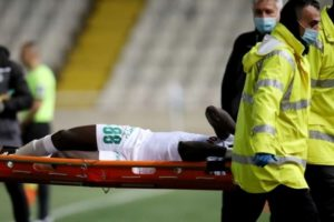 You will come back stronger – Injured Ghana winger Ernest Asante receives support from club