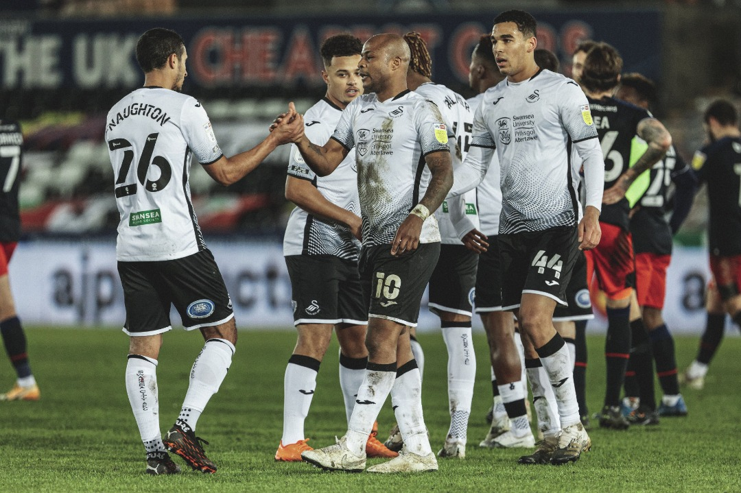 Ghana captain Andre Ayew helps Swansea City to dispatch Sheffield Wednesday with a 2-0 win