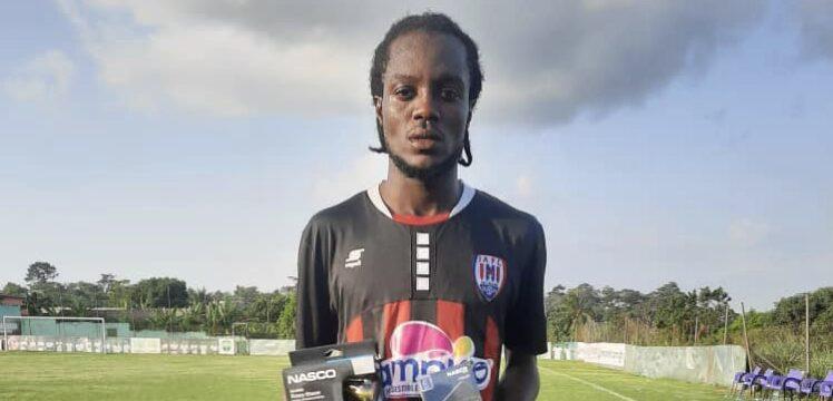 2020/21 Ghana Premier League: Inter Allies midfielder Richmond Lamptey named NASCO MVP in Karela win