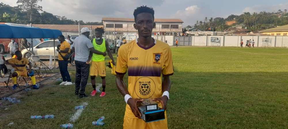 2020/21 Ghana Premier League: Medeama defender Baba Musah clinches MVP in Dreams FC victory