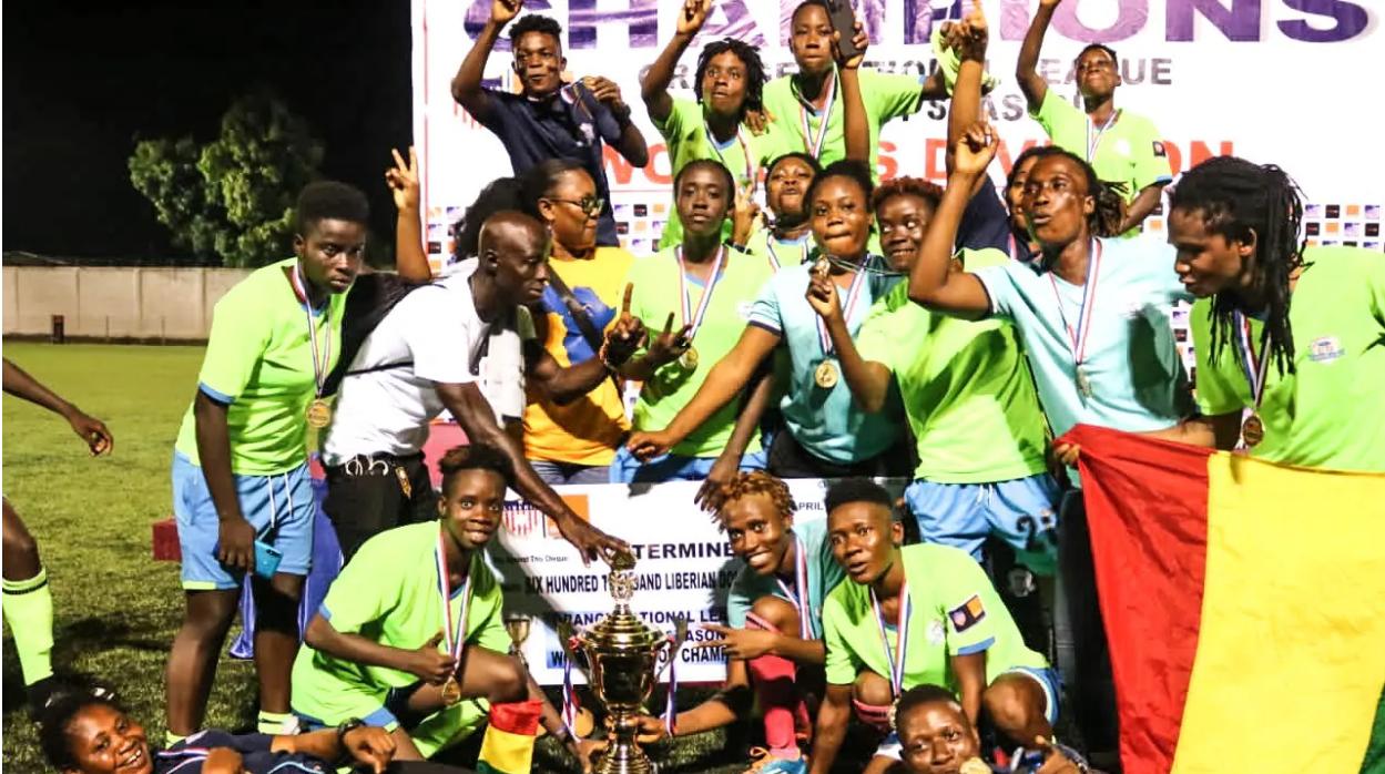 Liberia - Determine Girls crowned 2020-21 Women's League Champions