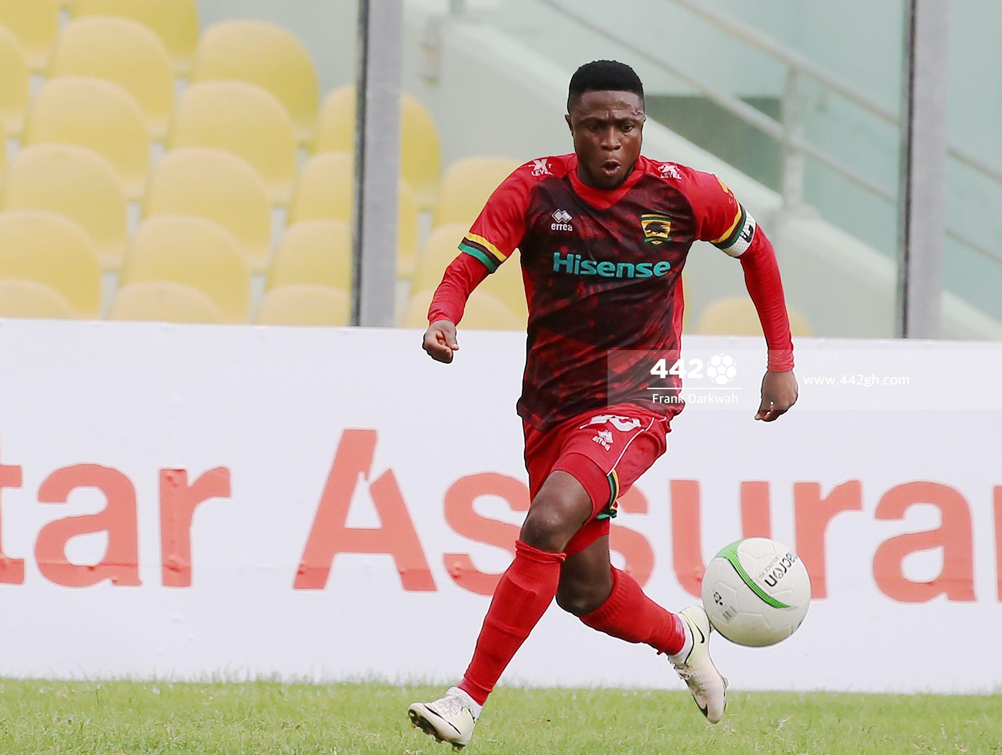 Kotoko skipper Emmanuel Gyamfi on the risk of missing Hearts of Oak showdown