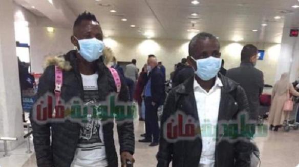 Striker Joseph Esso arrives in Algeria to complete MC Alger move from Dreams FC