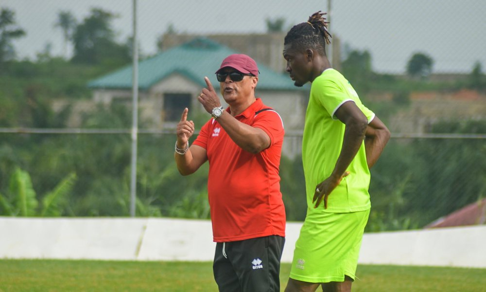 2020/21 Ghana Premier League: Asante Kotoko coach Mariano Barreto hopeful of beating Bechem United