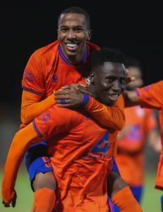Ghana forward Samuel Owusu scores to steer Al Feiha to thrash Al Khaleej 5-0