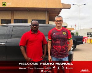 Pedro Manuel arrives to begin Kotoko work as physical trainer