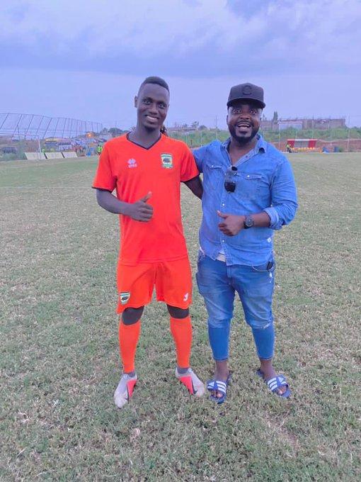 Mudasiru Salifu praises Abdul Yartey for playing a big role in his career