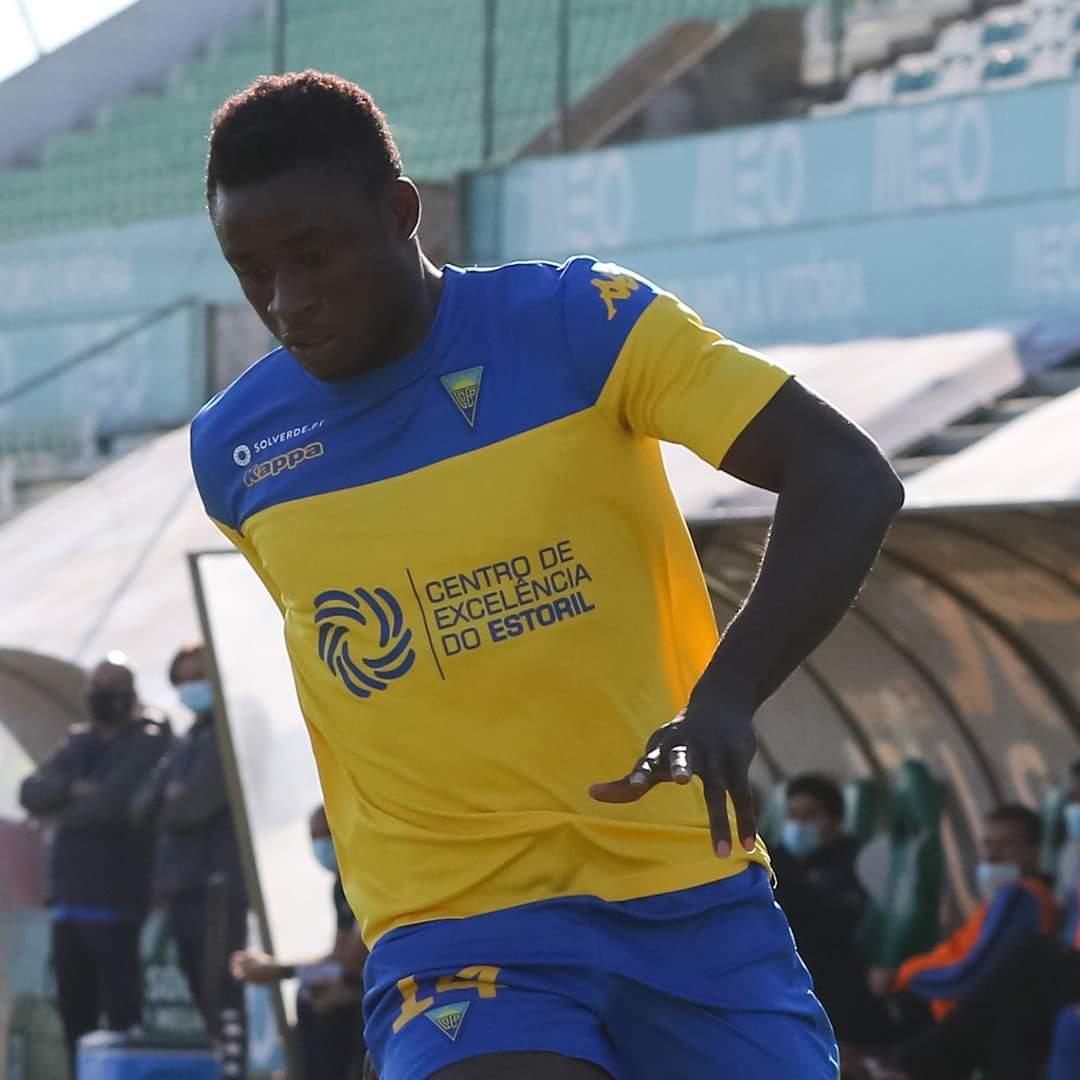 Ghanaian attacker Abdul-Aziz Yakubu scores to help Estoril Praia defeat Vilafranquense 3-1
