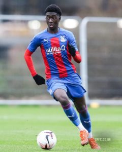 Youngster Jesurun Rak-Sakyi was a substitute in Crystal Palace defeat to Chelsea